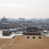 李氏朝鮮末期に造られた水原城。