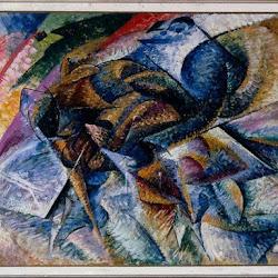 08.- Umberto Boccioni. Dinamismo de un ciclista