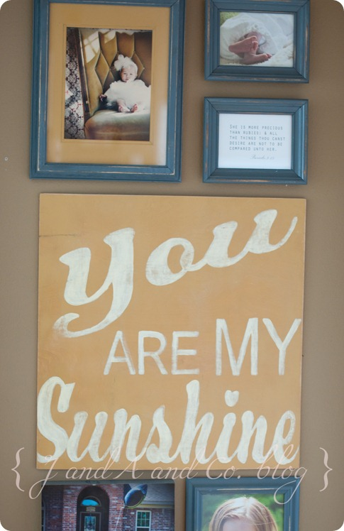 Sunshine photo wall-2