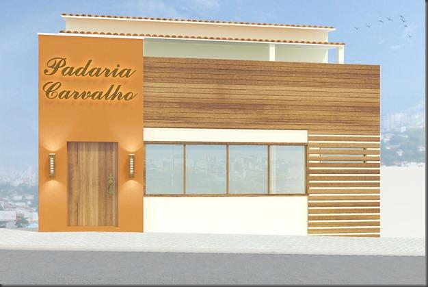 Fachada Padaria Carvalho 2