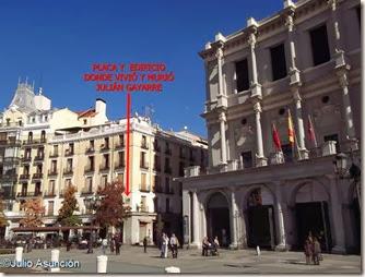 Edificio donde murió Julián Gayarre - Madrid