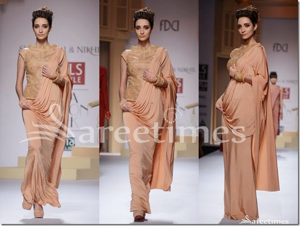 Shantanu_and_Nikhil_Peach_Saree