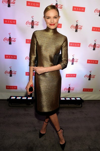 Kate Bosworth attends The Coca-Cola Bottle- An American Icon at 100 exhibition at the High Museum of Art