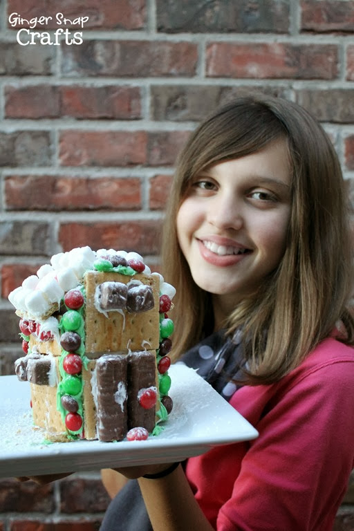fun holiday crafts gingerbread #shop