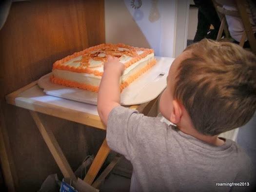 Mmmm . . . cake!