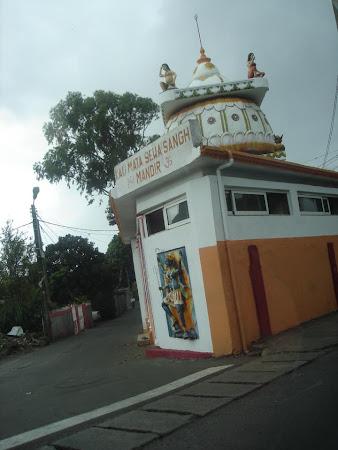 Templu indian in Mauritius
