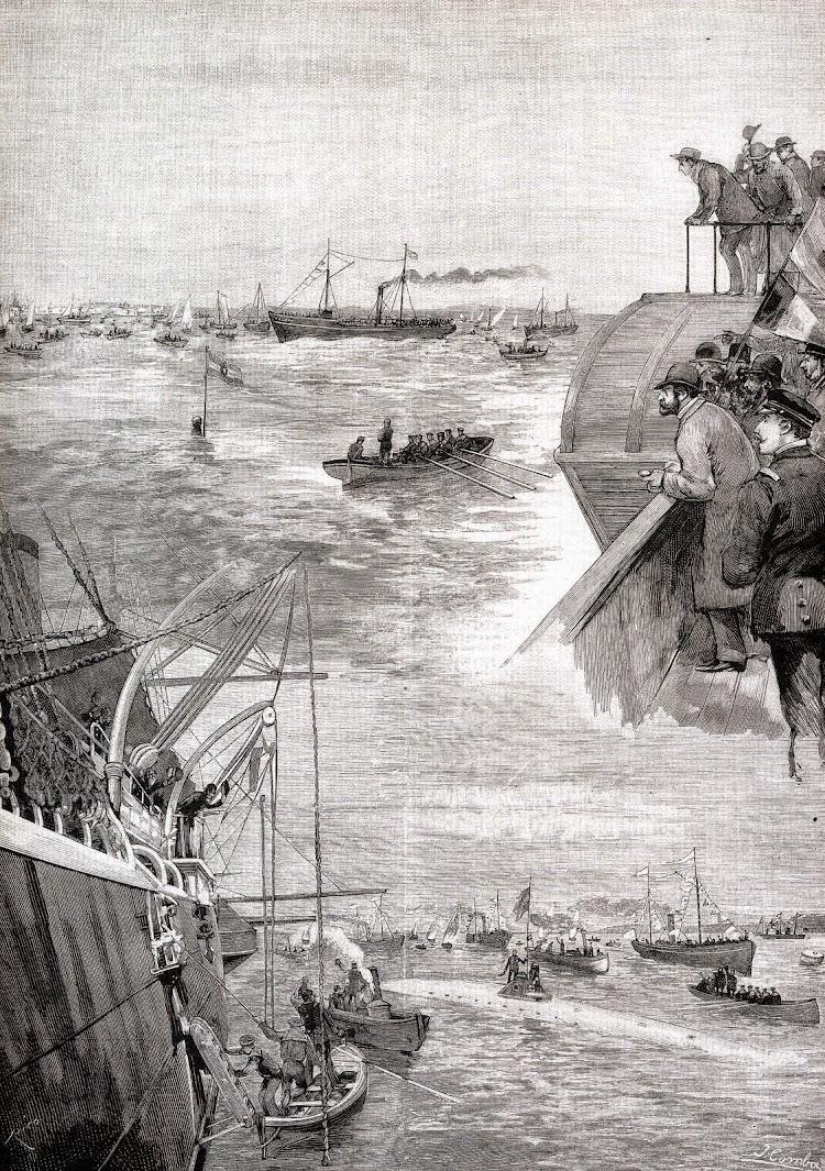 Litografía publicada en La Ilustración Española y Americana. Colección Juan Escrigas Rodriguez. Del libro Los Submarinos Españoles.jpg