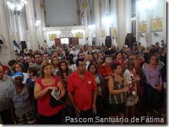Missa Solene - Igreja lotada