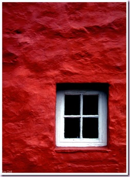 poppy red door 1