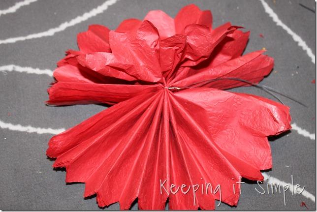 tissue paper pom pom (10)