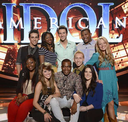 Top 10 of American Idol 12