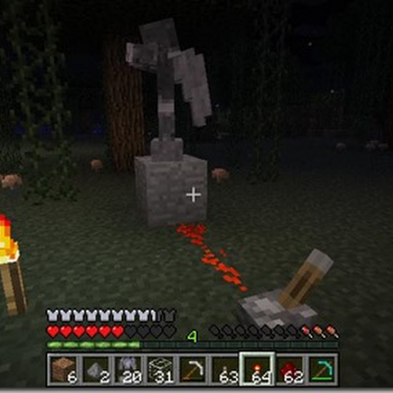 Minecraft 1.4.7 - The weeping angels mod