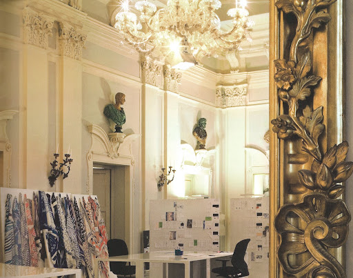 The Sala Bianca in Palazzo Pucci...such a wonderful work space.