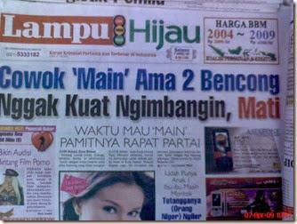 Hanya di Indonesia ada kasus seperti ini