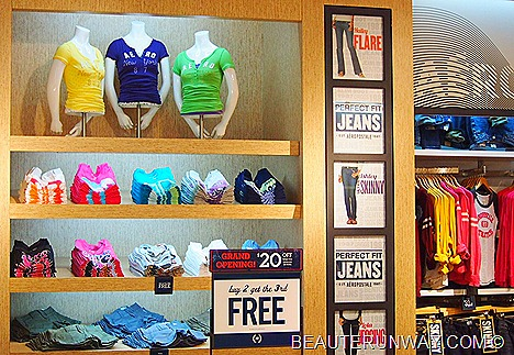 Aéropostale, American casual wear ladies ION Orchard