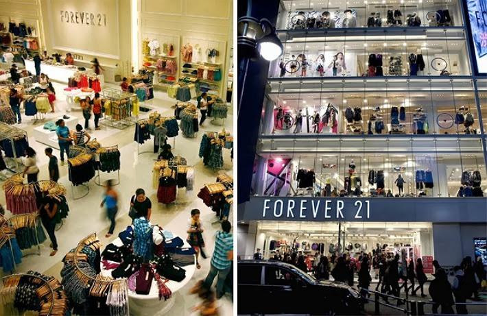 lojas forever 21