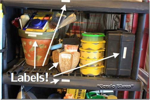 label garage storage