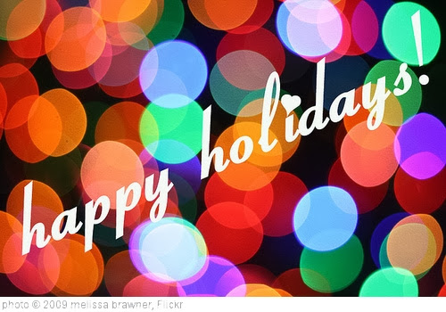 'happy holidays!' photo (c) 2009, melissa brawner - license: http://creativecommons.org/licenses/by/2.0/
