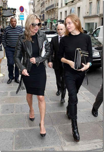 Kate Moss Kate Moss Stella McCartney out Paris R8JmYPvqrDBl