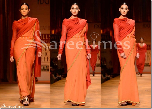 Tarun_Tahiliani_Plain_Saree