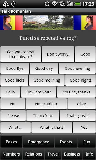 Talk Romanian