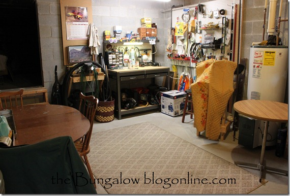 basement tool area