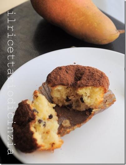 muffin ciocco-pere