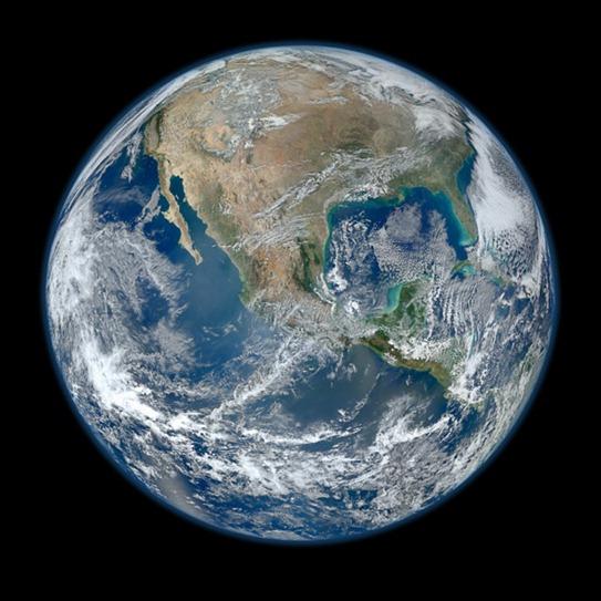 Foto da Terra - NASA - 2012