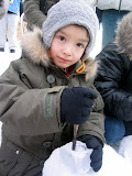 Make Your Own Ice Cup - This was Kai's favorite part of Satoland - he got to chisel his own cup out of a block of ice, and then get it filled with a drink.
