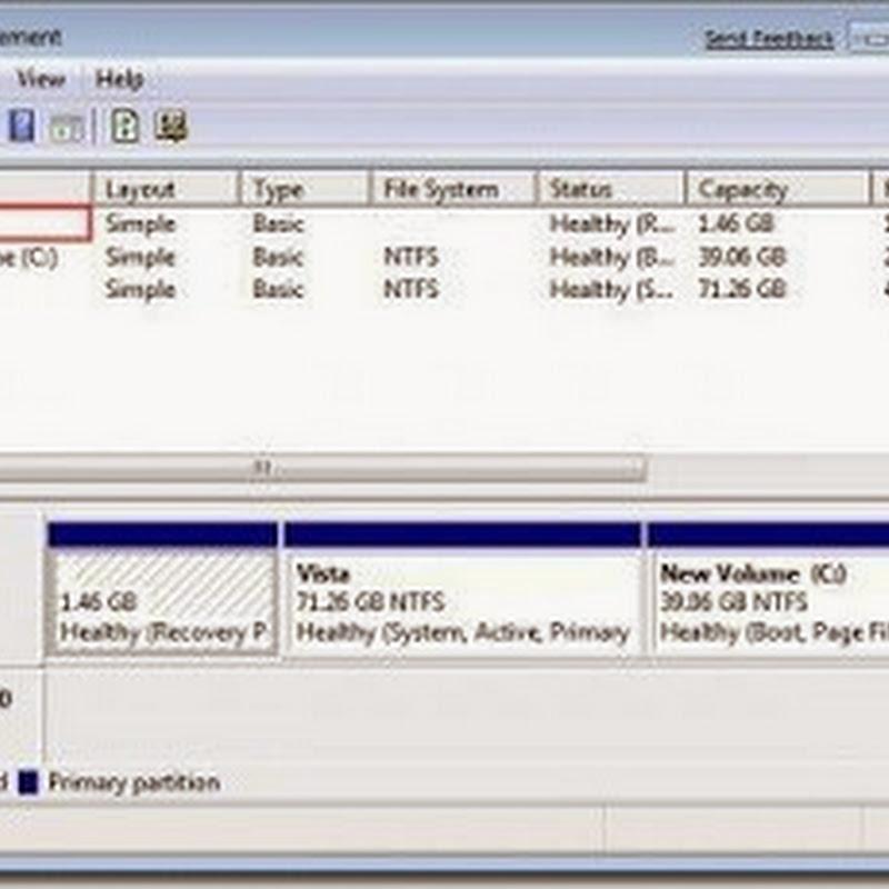Cara Menampilkan Drive / Partisi yang tersembunyi di Windows 7