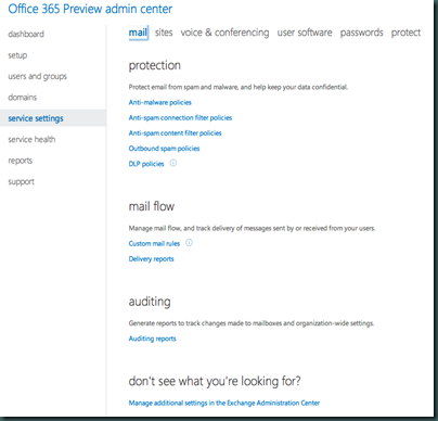 Office365_Servicesettings