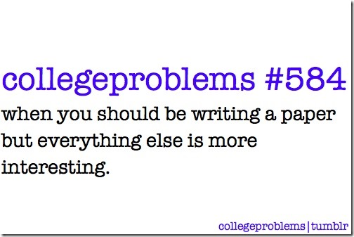 CollegeProblems 584 Writing