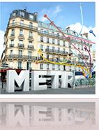 METRO... TICKET POUR UNE EXPO