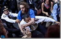 OWS Attacks Police Officer