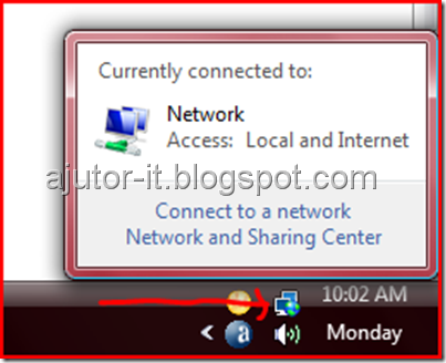 Network-sharing-center adress windows vista