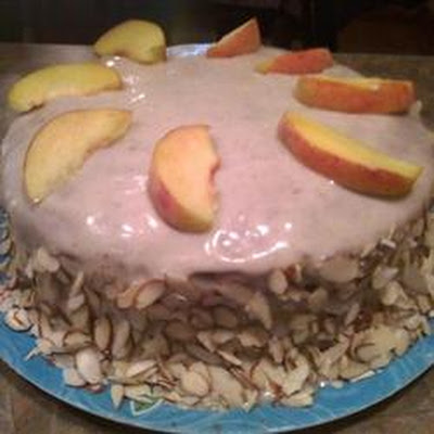 Peaches and Cream Cake