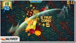 لعبة تقطيع الفواكه Fruit Ninja Free للأيفون والأيباد - 1