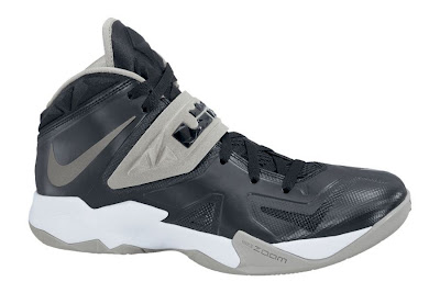 nike zoom soldier 7 tb black grey 1 01 Team Bank Options For Nike Zoom Soldier VII Available at NDC