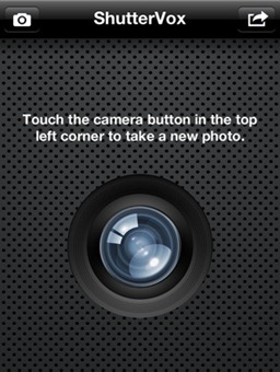 iPhone Voice Command Camera