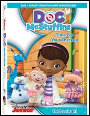 Doc McStuffins: Time for Your Checkup DVD
