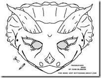 triceratops-mask