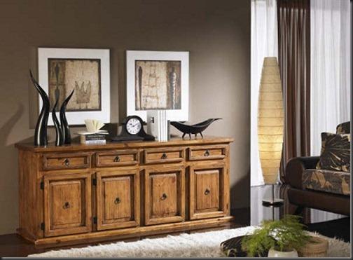 Comodas rusticas para tu habitacion decoracion de interiores - Comodas para habitacion ...
