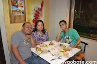 Cotabato Sugar's Terso Galela and wife, with Pacific Sugar IT's Philidor Vosotros