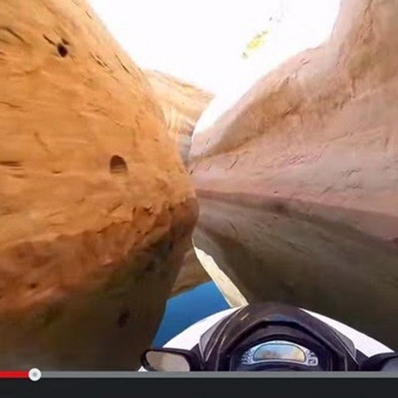 Τζετ Σκι Μέσα απο  Φαράγγια με  μια GoPro