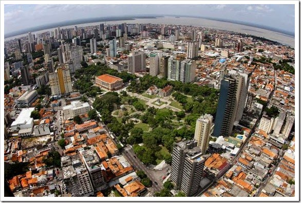Panorama Belém, fonte: Agencia Parà
