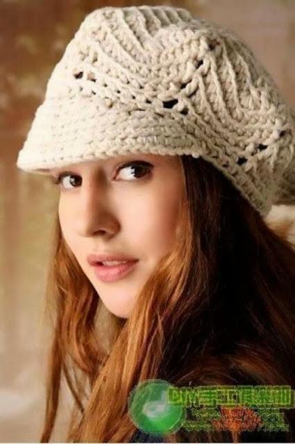 Gorras De Mujer Tejidas En Crochet Ganchillo Imagenes | apexwallpapers ...