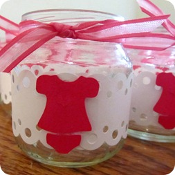 Baby Shower Candle Holders