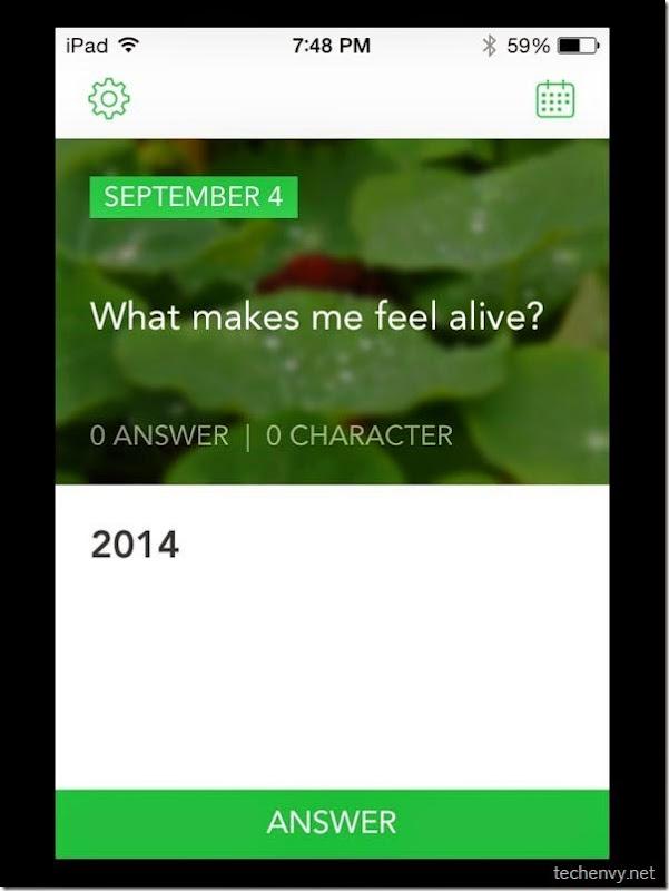 Loop Journal iOS app