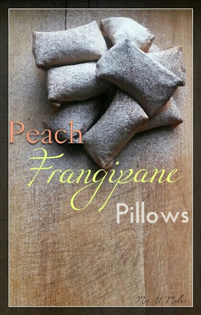 Peach Frangipane Pillows by Mrs U Makes