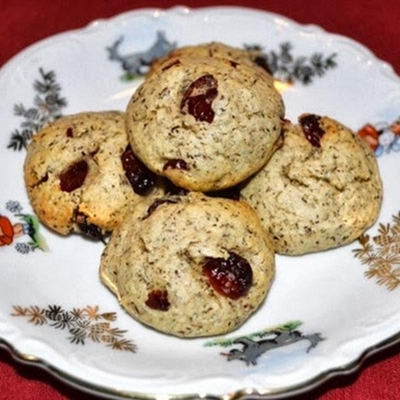 Μπισκότα με cranberry